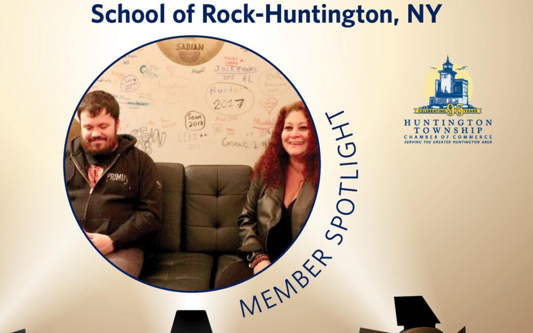 Member Spotlight: School of Rock, Huntington